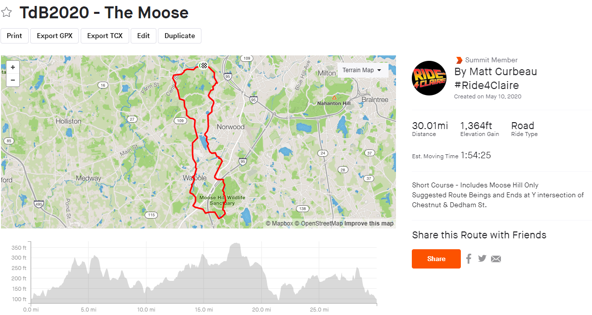 The Moose Route